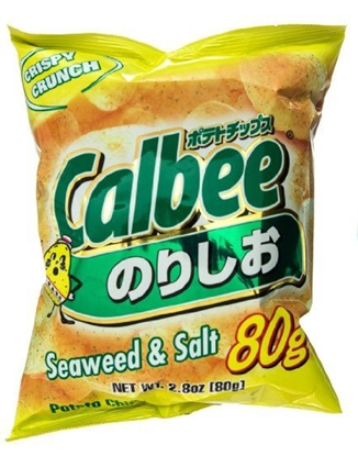 Picture of Calbee|薯片(seaweed&salt) 80g