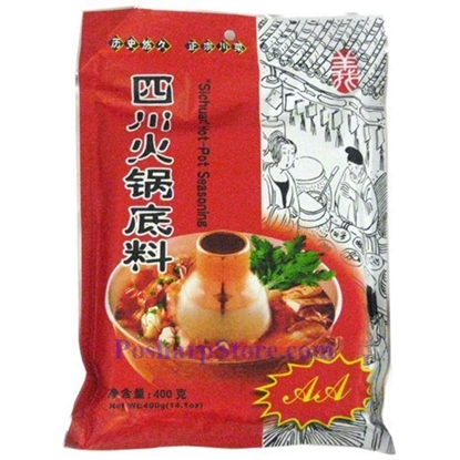 Picture of AA Szechuan Hotpot Base 四川火锅底料 400g