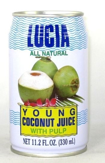 Picture of Lucia young coconut juice 310ml
