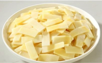 Picture of Fresh bamboo shoot slices