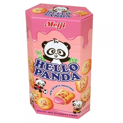 Picture of Meiji|Hello Panda 草莓味(10pack)