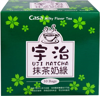 Picture of CASA|宇治抹茶风味奶绿 (10pack)