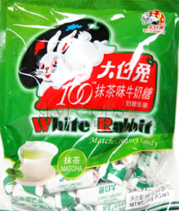 Picture of White Rabbit Matcha creamy candy