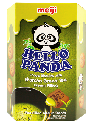 Picture of Meiji|Hello Panda 抹茶味(10pack)
